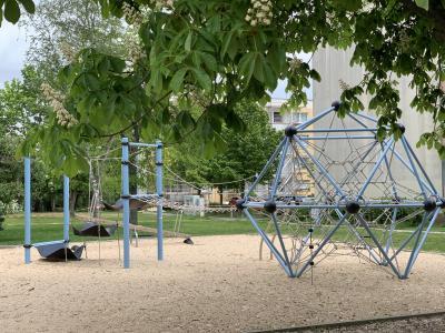 Der Spielplatz in der Gartenstraße kann ab Sonnabend von den Kids wieder in Beschlag genommen werden.