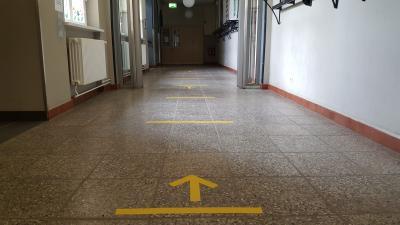 Foto zur Meldung: Unterricht unter besonderen Bedingungen