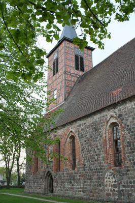 Foto zur Meldung: Neues Kirchdach für Brüssow