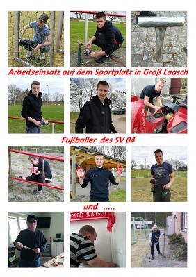 Gross Laasch - Fussball - SV04 Groß Laasch