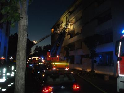 Foto zur Meldung: Feuer im Seniorenheim
