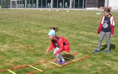 Foto zur Meldung: Athletikstunden werden gut genutzt