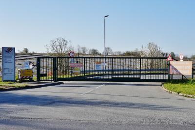 Bis 19. April war der Recyclinghof Damsdorf-Tensfeld geschlossen