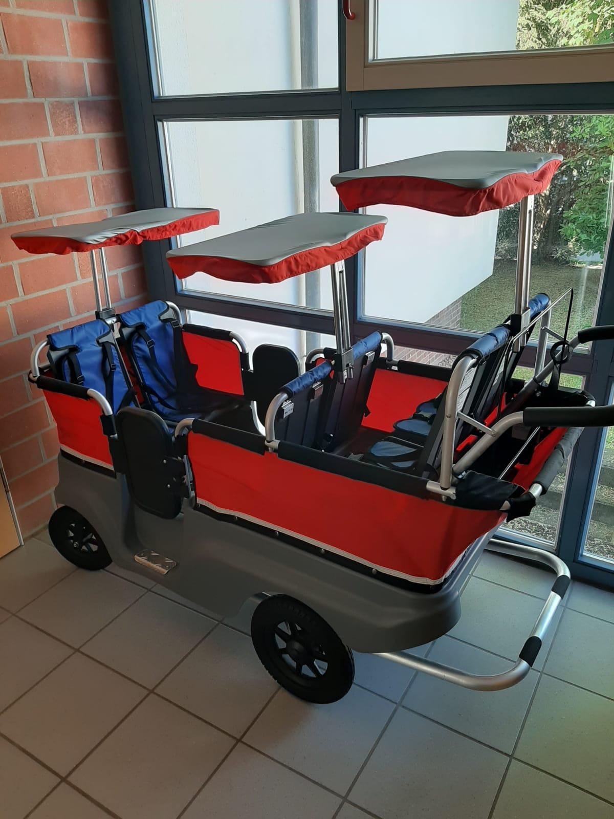 Bild der Meldung: Neuer Turtle Bus für Spaziergänge mit den Kleinsten