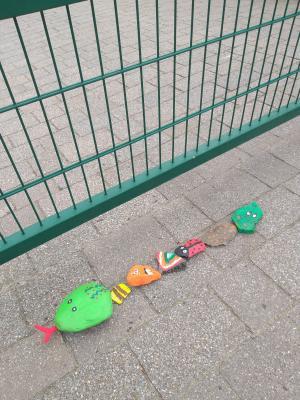 Vorschaubild zur Meldung: Die Kindergartensteinschlange