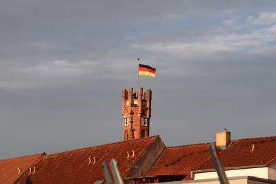 Vorschaubild zur Meldung: Bundesflagge gehisst