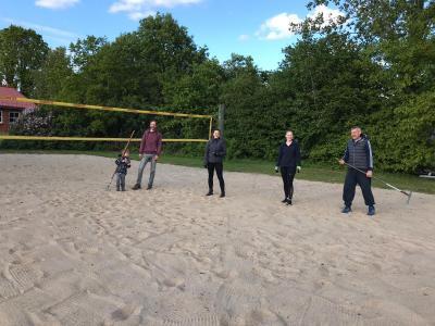 Foto zur Meldung: Beachvolleyballsaison ist eröffnet!