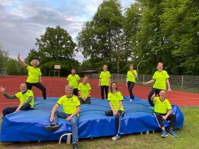 Das Sportabzeichen-Team ist bereit!