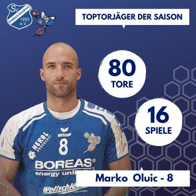 Toptorschütze Marko Oluic