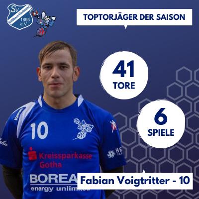Toptorschütze Fabian Voigtritter