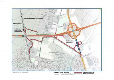 Foto zur Meldung: Verbesserung der Verkehrsflüsse in Dahlewitz und Rangsdorf