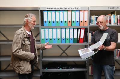 Vorschaubild zur Meldung: Neu in der Bibliothek Zielitz: Besucher können ab sofort im Pressearchiv der Gemeinde Zielitz mit OT Schricke recherchieren