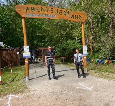 Vorschaubild zur Meldung: Eröffnung des Abenteuerspielplatzes