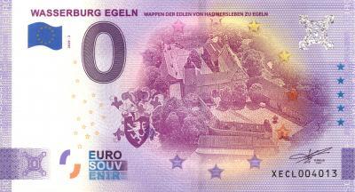 der neue 0 Euro Schein der Burg