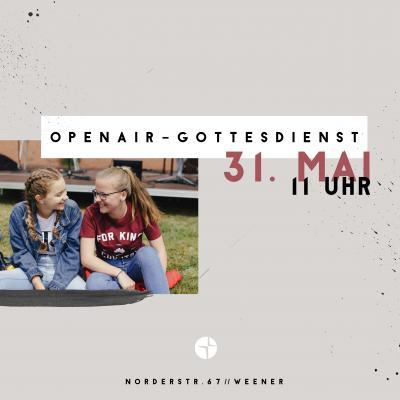 Vorschaubild zur Meldung: OPENAIR-GOTTESDIENST