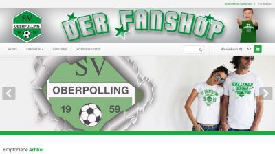 Bild der Meldung: FanShop des SV Oberpolling ist online
