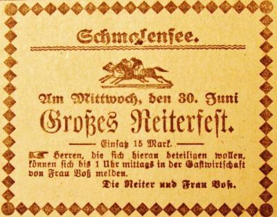 Foto zur Meldung: Juni-Meldungen der älteren und jüngeren Vergangenheit aus Schmalensee und Umgebung – Teil 2