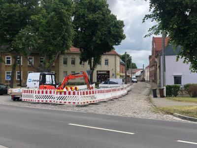 Foto zu Meldung: Verehrseinschränkungen Grüne Straße in Westeregeln