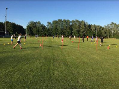 Training der A-Jugend