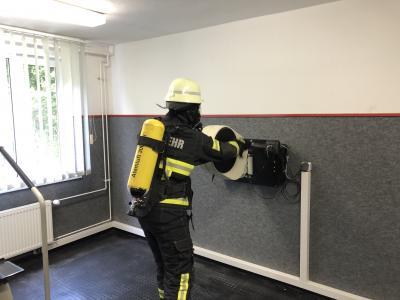 Foto zur Meldung: Alljährliche Überprüfung der Atemschutzgeräteträger