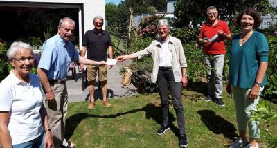 Vorschaubild zur Meldung: Ratsmitglieder des Holzwickeder Bürgerblocks spenden!