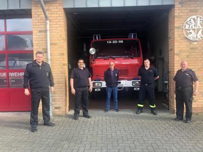 Bild der Meldung: Ernennung Fachbereichsleiter Brandschutzerziehung - Ausbildung
