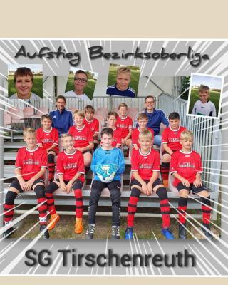 Kader D1-Junioren der SG Tirschenreuth