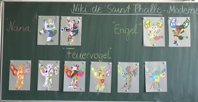 Vorschaubild zur Meldung: Künstler am Werk (Klasse 4a)