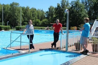 Foto zur Meldung: Im Freibad Waldeck kann wieder geschwommen werden