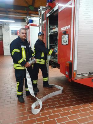 """Vorschaubild zur Meldung: """"Gesichter unserer Feuerwehr"""" - Gerätewarte Alexander Hack und Lorenz Heil"""