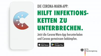Bild der Meldung: DFB, NFV und der TuS Obenstrohe werben für Corona-Warn-App der Bundesregierung