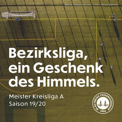 Bezirkslig-jaaa: Blau-Weiß Friedrichshain geht hoch!