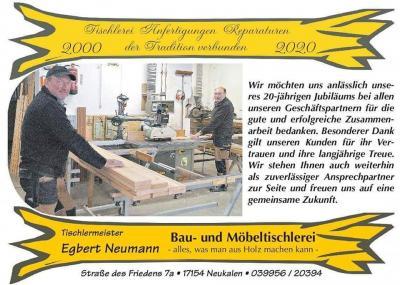Foto zur Meldung: Tischlerei Egbert Neumann