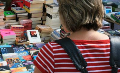 Viele Bücher warten auf neue Besitzer