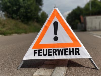 Foto zur Meldung: Verkehrsabsicherung
