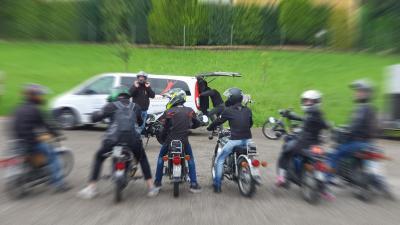 Foto zur Meldung: JG-Mopedtour