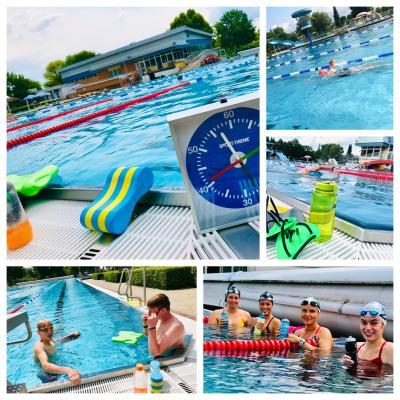 Vereinsschwimmer dürfen wieder ins Becken - Trainingsstart im Freibad Fritzlar