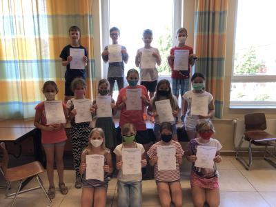 Vorschaubild zur Meldung: Siegerehrung Landeswettbewerb Mathematik NRW