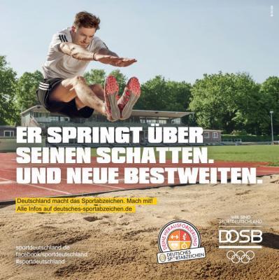 Vorschaubild zur Meldung: Immer donnerstags: Sportabzeichen-Abnahme im Bolzbergstadion