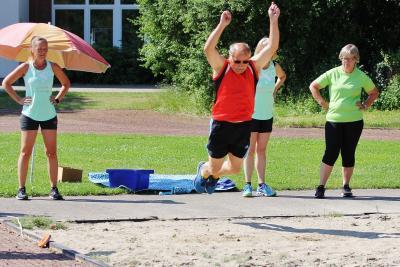 Foto zur Meldung: Fleißige Breitensportler: Erste Sportabzeichen im SVS sicher