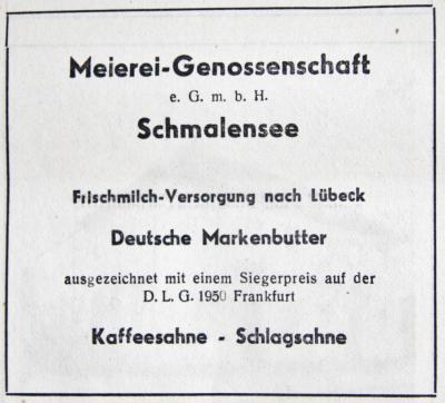Foto zur Meldung: Juli-Meldungen der älteren und jüngeren Vergangenheit aus Schmalensee und Umgebung – Teil 1