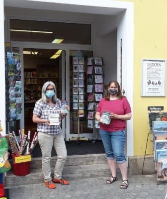 Bücherübergabe am 23. Juni 2020 in Bad Windsheim