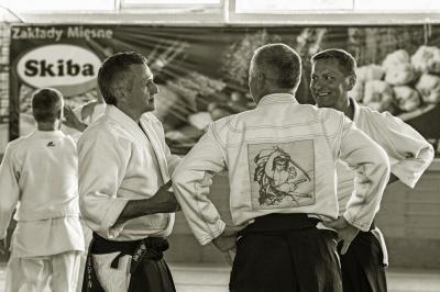 Foto zur Meldung: Aikido-Lehrgang mit Sensei Michel Erb