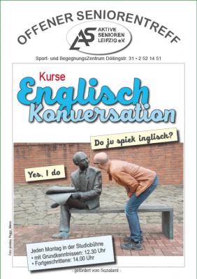 Englisch Konversation bei den Aktiven Senioren Leipzig