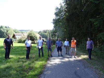 Foto zu Meldung: Drei neue Flurwege für Viechtafell