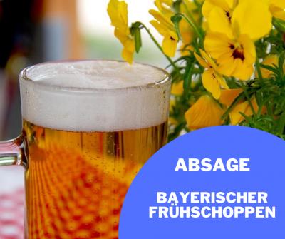 Absage bayrischer Frühschoppen