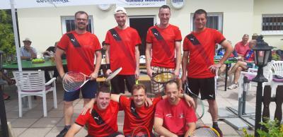Bild der Meldung: Tennis trifft Tischtennis: LSV-er zu Gast bei den Tennisfreunden Gersdorf