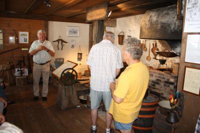 Treffen in Görwihl beim Heimatmuseum