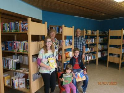 Foto zur Meldung: Bücherei am neuen Standort wieder geöffnet