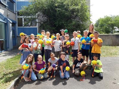 Foto zur Meldung: Die Sommerhühner der Klasse 3b